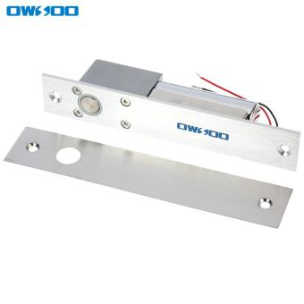 Harga OWSOO Electric Drop Bolt Lock Fail-safe Secure NC Mode 12V For Door Entry Access Control System Tomnet - intl