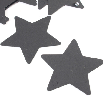 Audew Star Shape Kraft Paper Bookmark Tags Wedding Party Gift Blank Card 50 Pcs Price Philippines