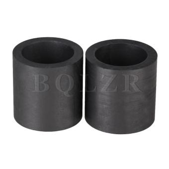 Harga High Purity Graphite Crucibles 3x3cm Set of 2 Black