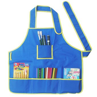 apron craft apron with pockets to paint 4 class art school Price Philippines