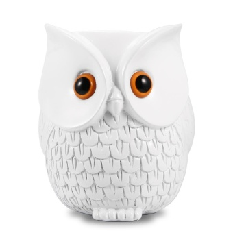 Harga Owl Statue Crafted Guard Station for Echo Dot 2nd and 1st Generation Guard Holder Guard Station Smart Home Décor Guard - intl
