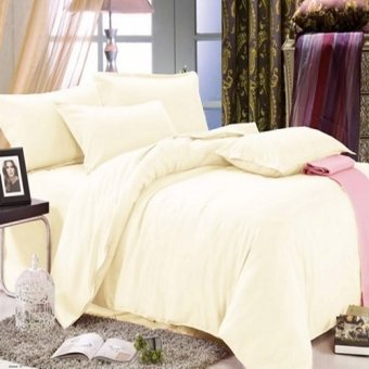 Harga Beverly's Linen Collection Solid Plain Bedsheet