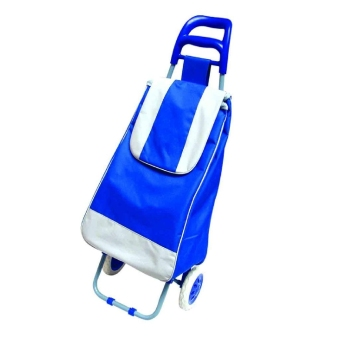 Harga Shopping Trolley (Royal Blue)
