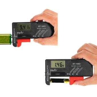 New AA/AAA/C/D/9V/1.5V Universal Button Cell Volt Tester Checker Digital Display - intl Price Philippines