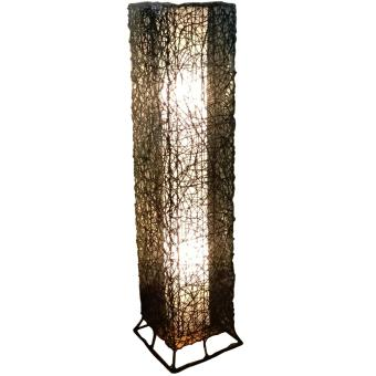 Harga KrigKrafts, Native Nito Fiber LED Lampshade, Floor Lamp, Rectangle, Double Wall, 4 Feet