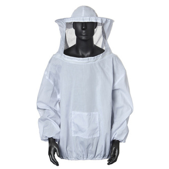 Harga HKS Protective Beekeeping Jacket Veil Dress With Hat Equip Suit Smock White (Intl)
