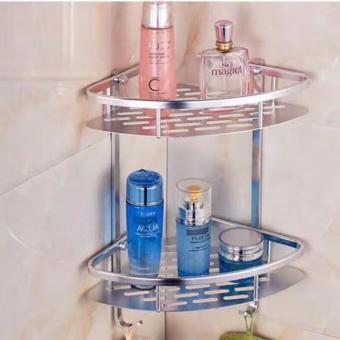 New 2017 Hong Kong High Fashion Multipurpose 2 layer Corner bathroom Kitchen Wall Shelves Price Philippines