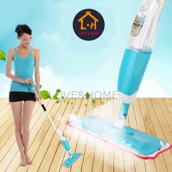 Harga LOVE&HOME New Water Home Spray Mop (Blue)