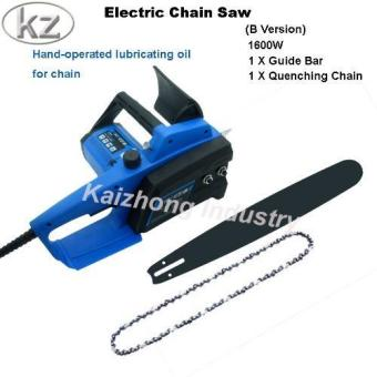 Harga Kaizhong Electric Chain Saw B Version Woodworking Saws Household Electric Tools - intl