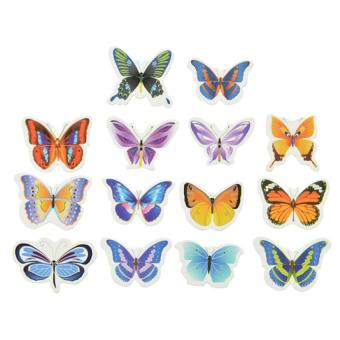 50Pcs Butterflies Wedding Birthday Edible Rice Wafer Paper Cupcake Cake Toppers Price Philippines
