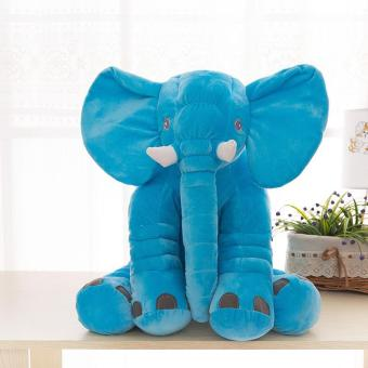 BUYINCOINS Cute Soft Elephant Toy Animal Cushion Kids Baby Sleeping Pillow Best Gift 33CMx40CM - intl Price Philippines