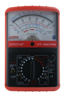 Harga Newstar UT-380TRH Professional Analog Multimeter (Red)
