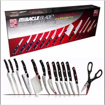 Harga Miracle Blade Complete 13-Piece Knife Set World Class