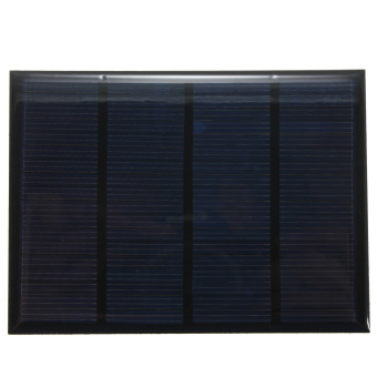 Harga Solar Panel 12V 100mA 1.5W Small Solar Cell (Black)