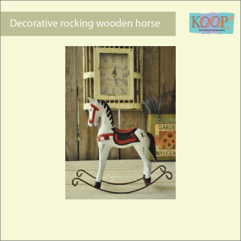 "KOOP! Decorative ""Rocking"" Wooden Horse Price Philippines"