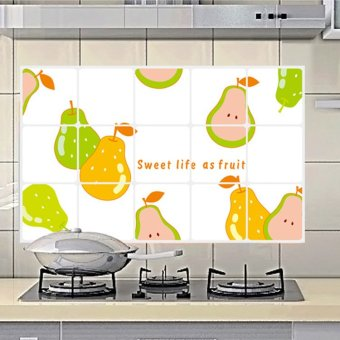 Wall Decals Pears Kitchen Anti Oil Stickers PVC Wall Stickers Price Philippines