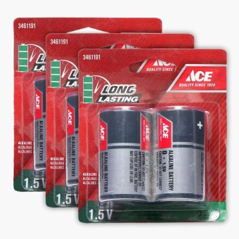Harga Ace Hardware 2-pack D Battery (Set of 3)