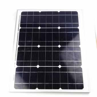 Harga 30Watts 18V 1670mA Mono Crystalline Solar Modules for Solar Fan
