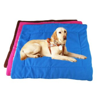 Harga Soft Cotton Pet Bed Cushion Pad Puppy Dog Cat Comfortable Mat Size M