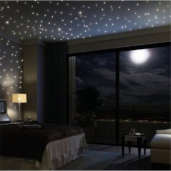 100pcs Home Wall Light Green Glow In The Dark Star Stickers Decal Baby Room Price Philippines