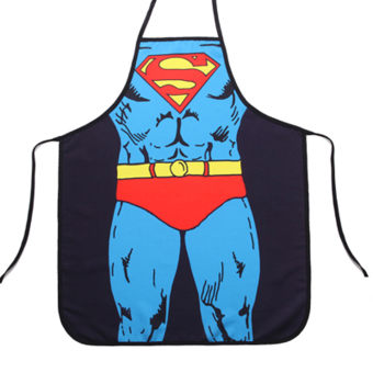 Funny Cooking Kitchen Apron Sexy Dinner Party Apron Superman Price Philippines