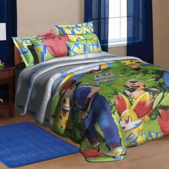 "Sleep Essentials Meowth Fire Roaster Collection Bedding 3 Piece Set (Fits 3"" to 6"" Bed Cushion) Price Philippines"