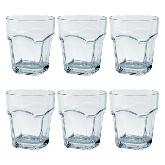 Italian Double Old Fashion / Rock Glass / Whiskey Glass / OldFashion Glass / Scotch Glass 270ml Set of 6 Glassware Price Philippines