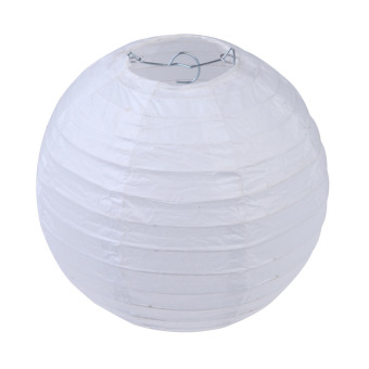 "Multicolor Round Chinese Paper Lanterns Wedding Party Decoration 6"" White Price Philippines"