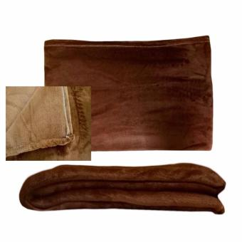 Harga Beverly's Linen Collection Polar Fleece Blanket - Light Brown (150x200)