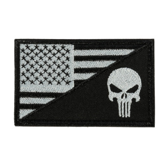 Autoleader National Nation Country Flag Emblem Patch Embroidered Applique Sew Trim Badge US Punisher Price Philippines