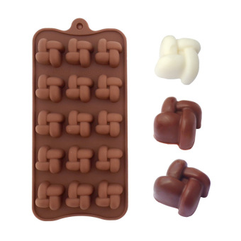 Harga HL Real Stocked Ce / Eu Soap Mold Christmas New Silicone Muffin Cookiecup Cake Baking Mould Chocolate Jelly Maker - intl