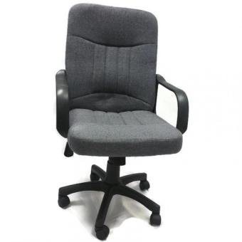 Harga Ergonomist Mid- Back Executive Office Chair with Arms (Grey)
