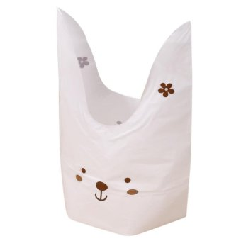 Harga 50pcs/lot Lovely White Rabbit Ear Biscuit Bag - intl
