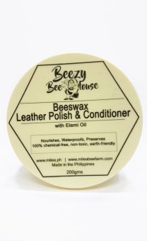 Milea Organic Beezy Bee House Beeswax Leather Polish and Conditioner Price Philippines