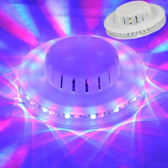 LED tornado lamp 48 LED UFO Stage Light RGB LED DJ Disco Party Stage Lighting Ceiling Wall Lights Black High Brightness Price Philippines
