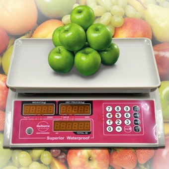 Harga Electronic Sukeru Food Meat Produce Weight Digital Price Computing Scale 3kg to 1000kg