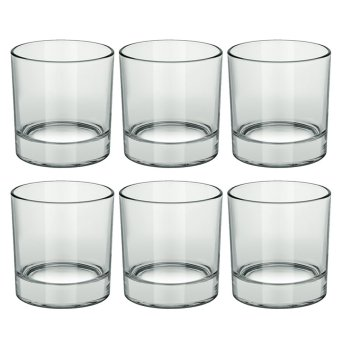 Italian Double Old Fashion / Rock Glass / Whiskey Glass / OldFashion Glass / Scotch Glass 325ml Set of 6 Glassware Price Philippines