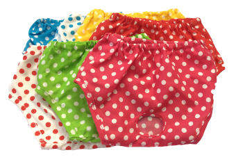 Harga 7 Days Polka Dot Dog Panties