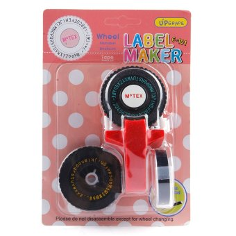 Harga Motex Label Maker E-101 (Red)