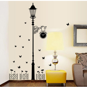 "Wallmark ""Streetlight love sweet butterflies"" Wall Sticker Price Philippines"