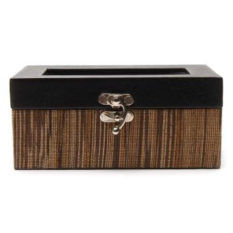 Harga Handicraft 3-Compartments Watchbox (Lupis)