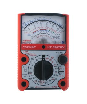 Harga Newstar UT-390TRV Robust Analog Multimeter (Red)