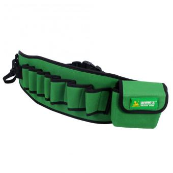 Wynn's Utility Tool Belt Canvas tools Mechanic/Electricians/Carpenters tool bag W41906 (Army Green) Price Philippines