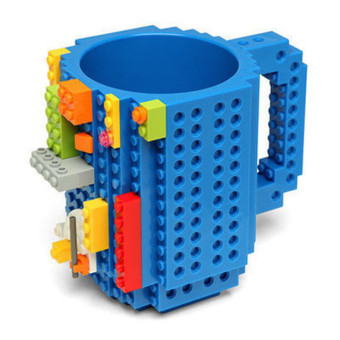Lego Diy Creative Assembled Cups Water Coffee Cups Block Puzzle Mug-Blue - Intl Price Philippines