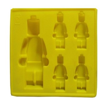 Harga Lego Silicon Mould (Yellow)