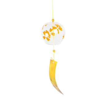 BolehDeals Japenese Culture Glass Bell Hanging Wind Chime Decor Home Garden DIY Gift #1 - intl Price Philippines