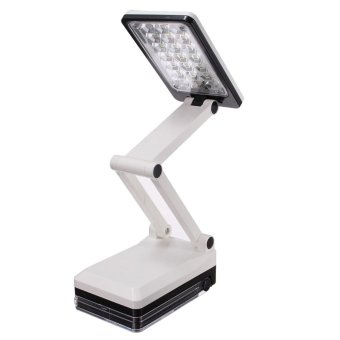 Eye Protection LED Foldable Rechargeable Study Reading Light Desk Lamp - intl Price Philippines