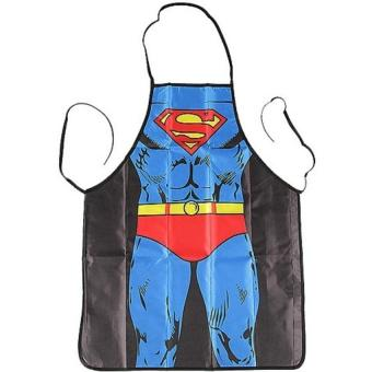 Sexy Superman Kitchen Apron Cooking Apron for Men - intl Price Philippines