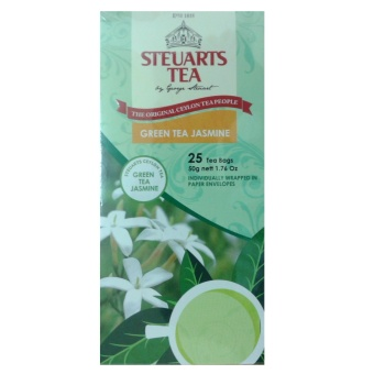 Steuarts Tea GREEN TEA JASMINE 25 Tea Bags Individually Wrapped Price Philippines