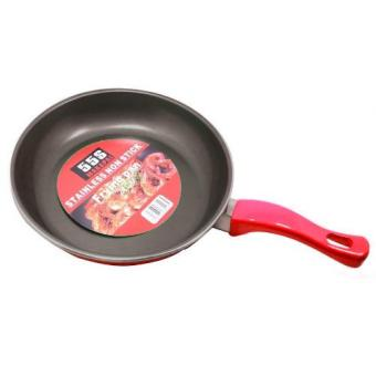 555 24cm Non-Stick Fry Pan (Red) Price Philippines